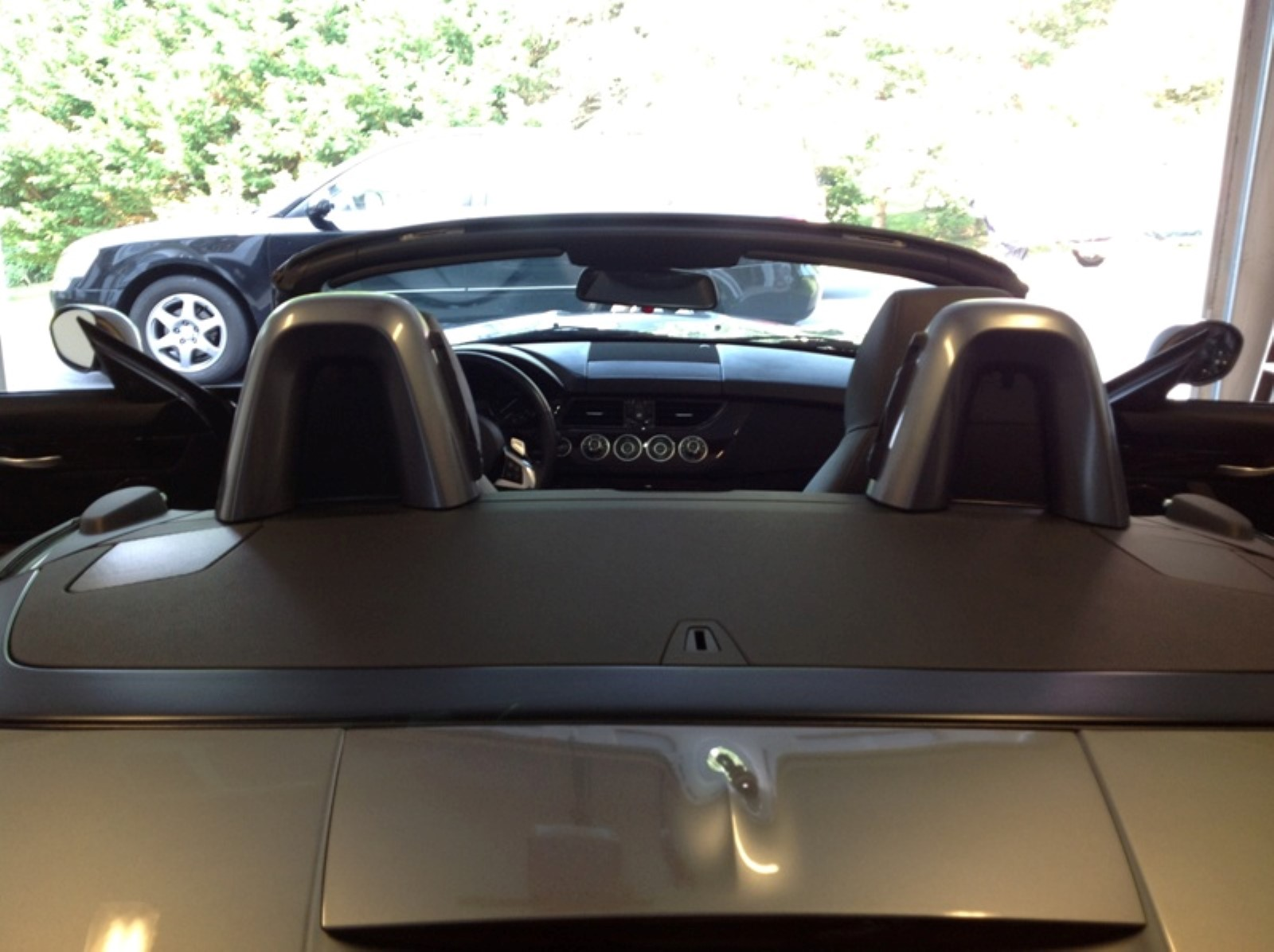 Bmw Z4 Windscreen With Out Front Deflector Rear Deflector