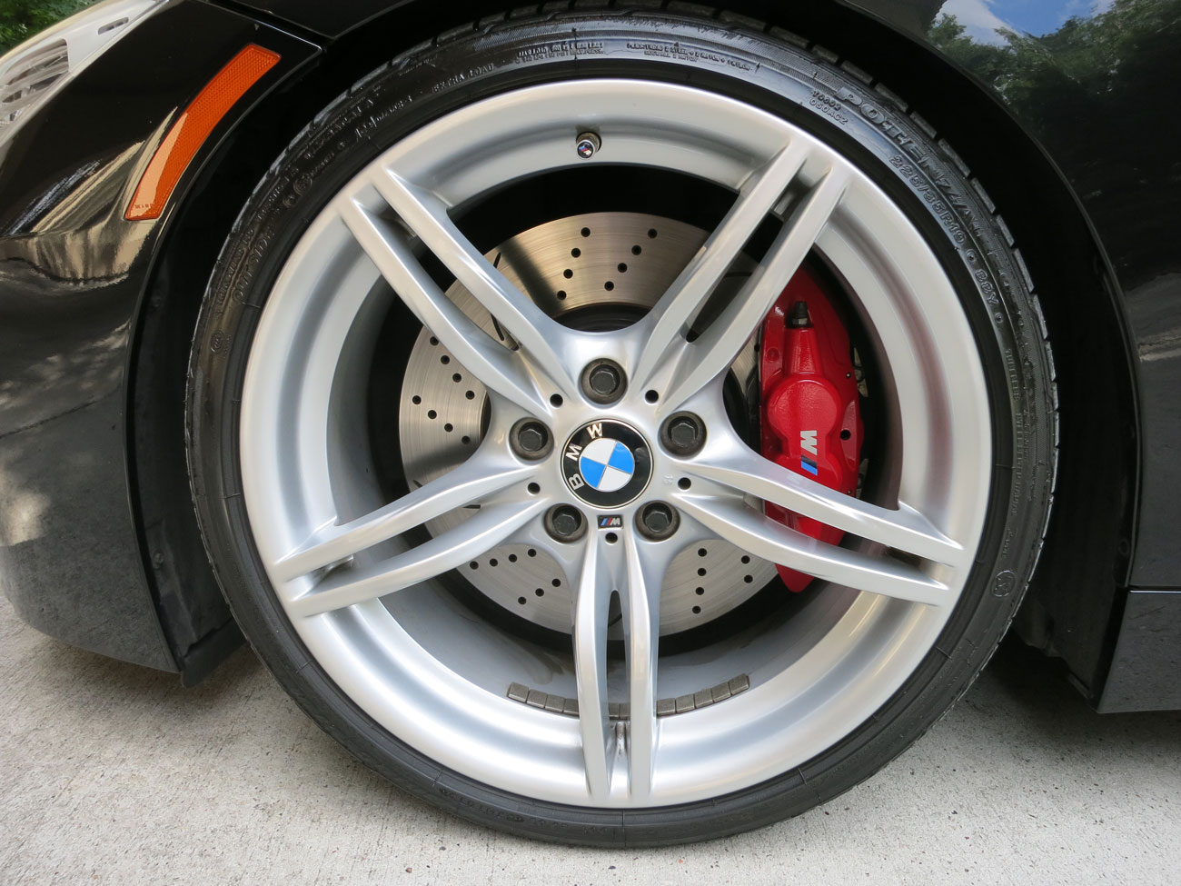 2011 Z4 With M Performance Front Brake Kit And Cquence Rotors