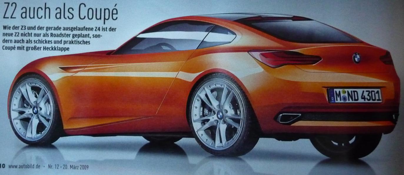 BMW Z2 roadster details