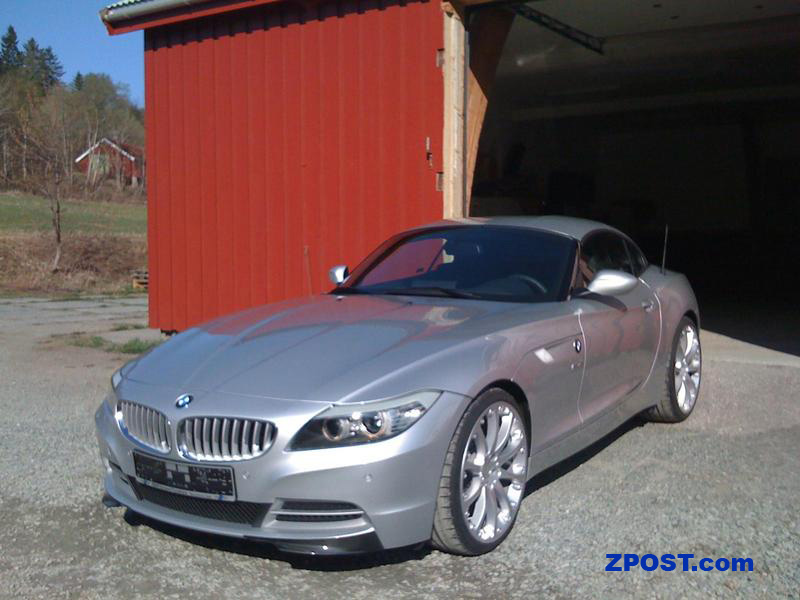 Photo Of Titanium Silver Z4 With Cf Splitters And Hartge Wheels