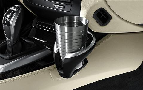 bmw e60 cup holder stuck