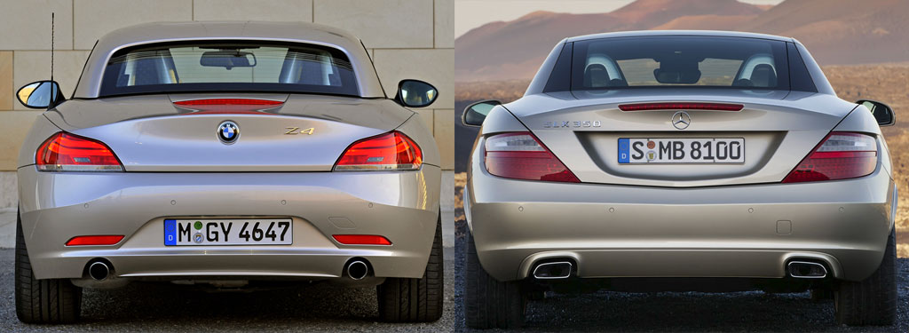 Comparison: New Mercedes SLK vs BMW Z4