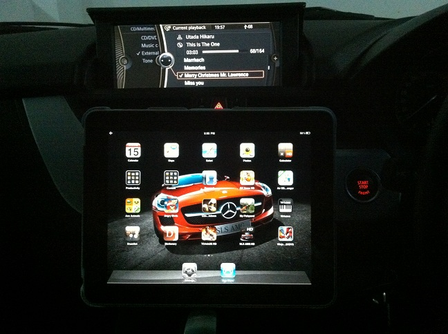 Ipad Mounted