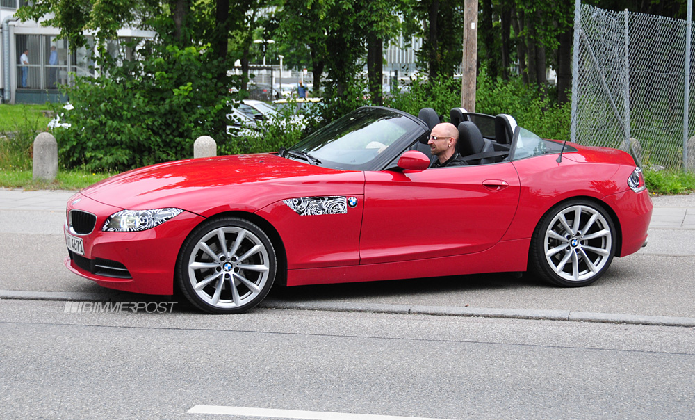 2013 Bmw Z4 Lci Facelift Is Coming Spied