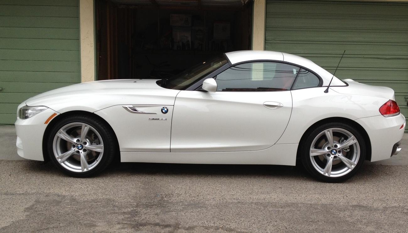 My New 2014 Alpine White 35i Msport