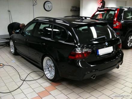 JimPastells BMW I Touring E BIMMERPOST Garage - Bmw 335 touring