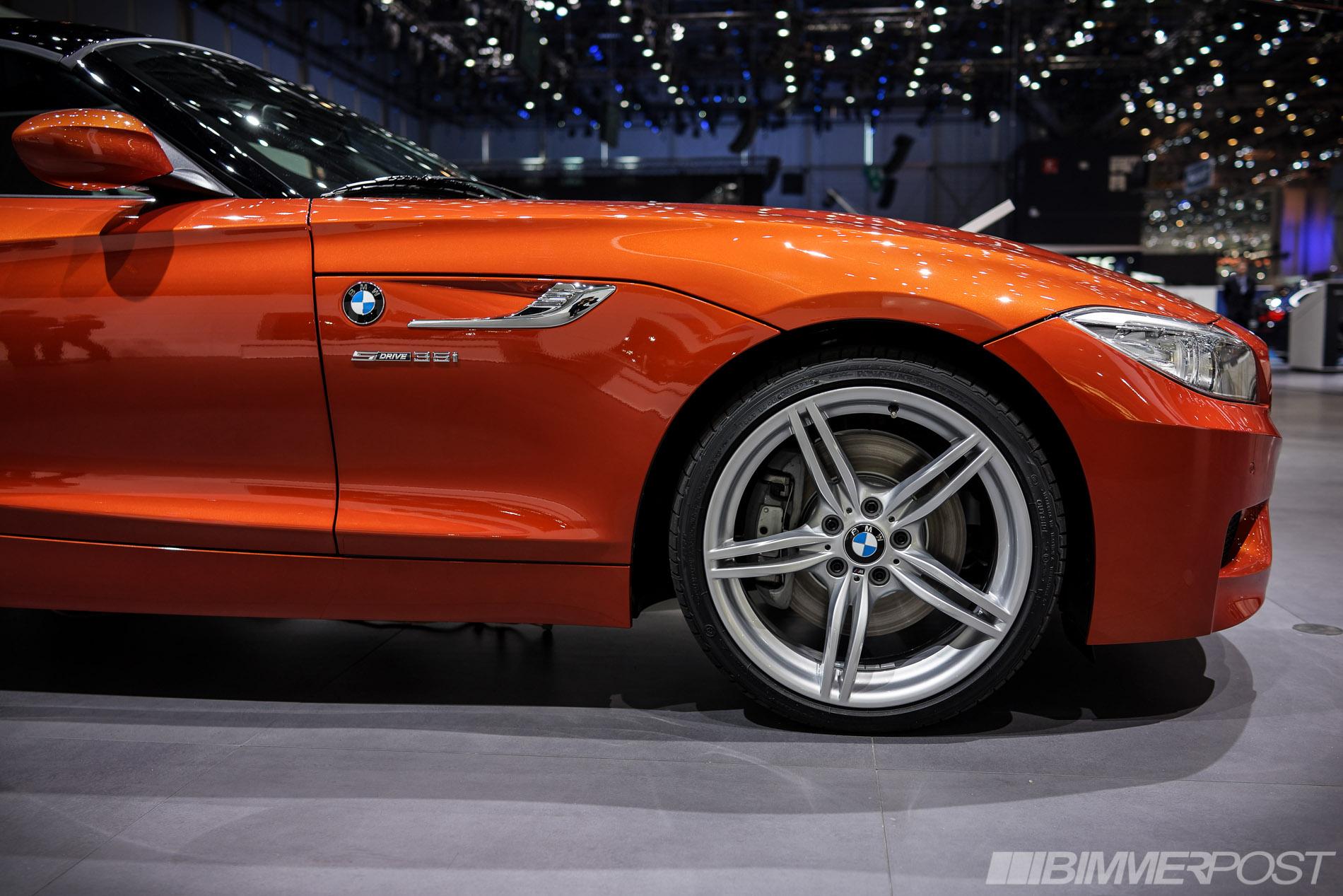 Geneva 2013 Bmw Z4 Lci In Valencia Orange And Hyper Orange Package Page 2