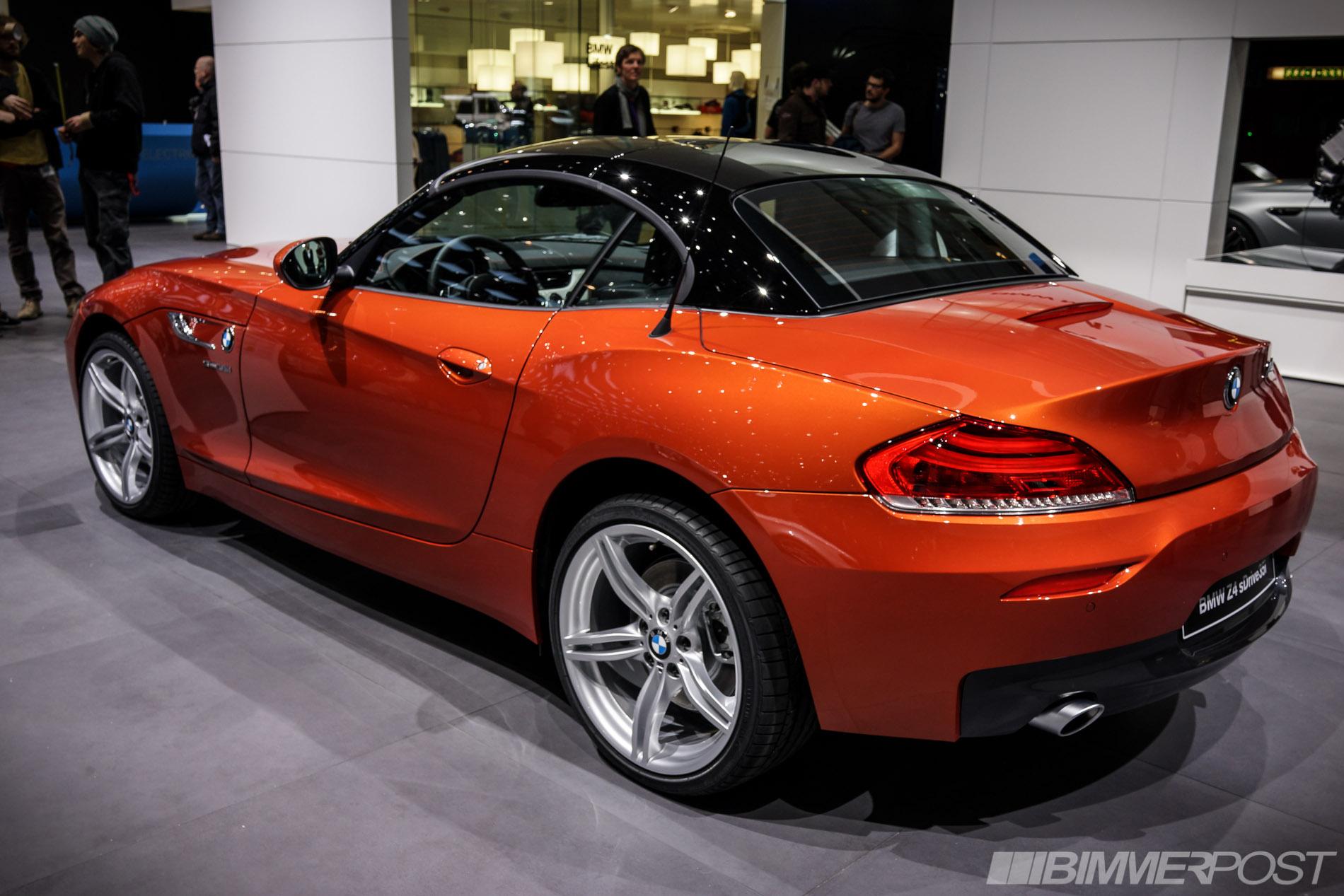 Geneva 2013 Bmw Z4 Lci In Valencia Orange And Hyper